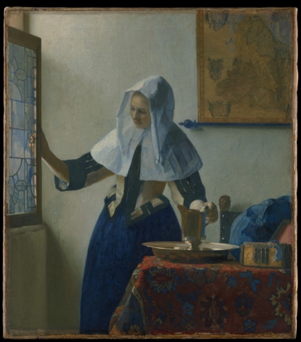 met archives org vermeer young woman