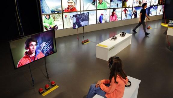Salle d'exposition du Musée Alpin Suisse de Berne