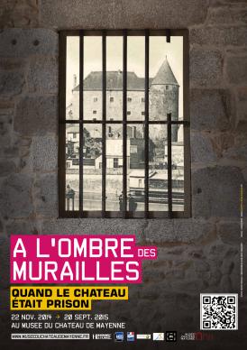 musée château mayenne expo prison poster