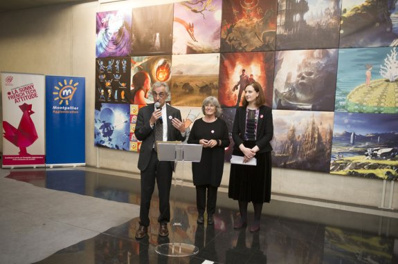 Vernissage de l'exposition (c) Musée Fabre