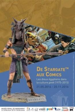 musée mariemont expo stargate affiche expo