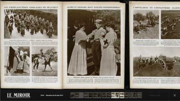 14 18 une guerre photographique racont e en photos 3d for Histoire du miroir