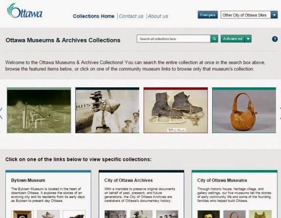 ottawa museums online