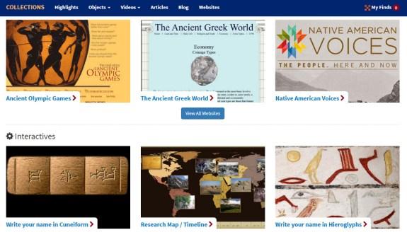 penn museum interactive