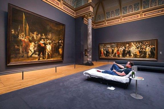 rijksmuseum 10 million visitor one night