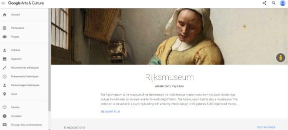 rijksmuseum google hp