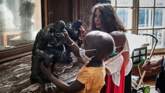 Projet « Rodin va à l'hôpital »