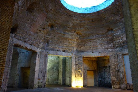 roma domus-aurea-octagonal-room