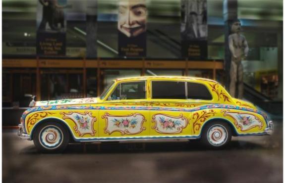 Image de la Rolls-Royce de John Lennon (c) Royal BC Museum