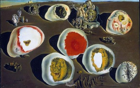 """""""Les accommodations des désirs"""" (1929) (c) Fundacio Gala Salvador Dali"""