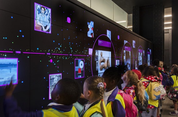 La nouvelle Timeline of Modern Art à la Tate Modern © Andrew Dunkley, Tate Photography
