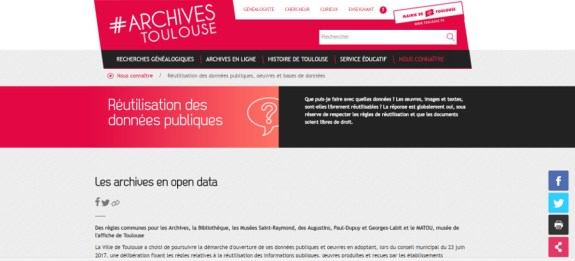 toulouse archives open