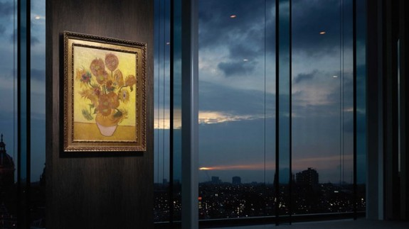 van gogh museum repro sunflowers-editions