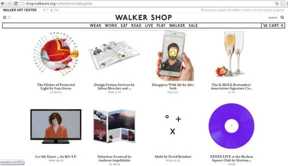 walker shop intangible