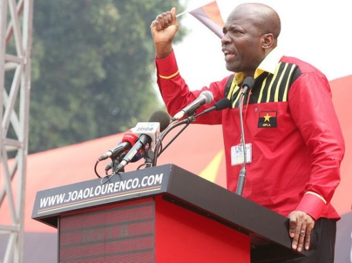 Ernesto Muangala decreta fim do MPLA na Lunda Norte - Arnaldo Sanza