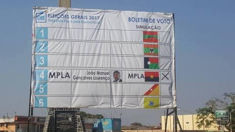 A luta pela comissão nacional eleitoral CNE