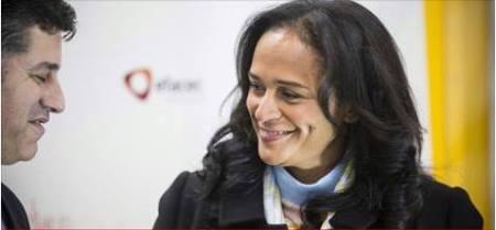 Isabel dos Santos anuncia novos investimentos em Angola