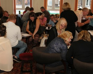 Social event at the Caterham Club