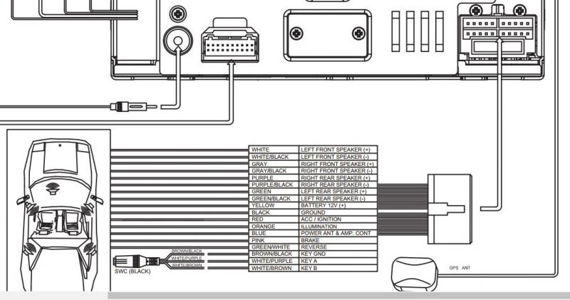 Jensen Vx7020 Wiring Harness Diagram : Jensen Stereo