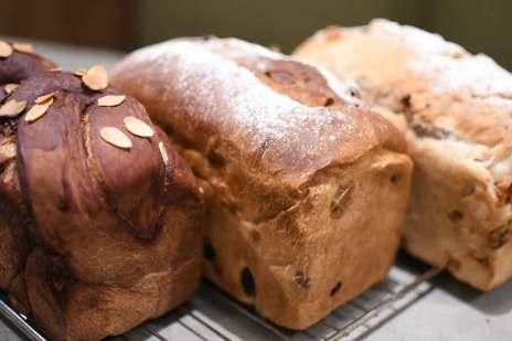 パン 食パン レーズンパン くるみパン チョコレートパン