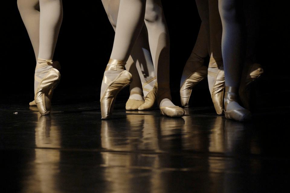 La section Danse Classique en stage
