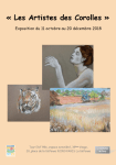 Exposition Les Artistes de Corolles