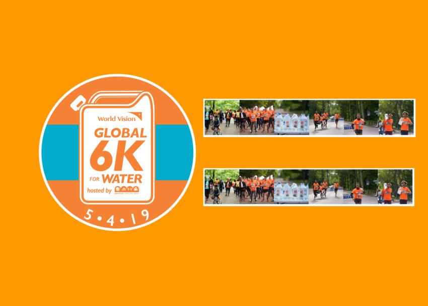 Course 6K for Water avec l'association Club92Cmcas et la CMCAS des Hauts de Seine