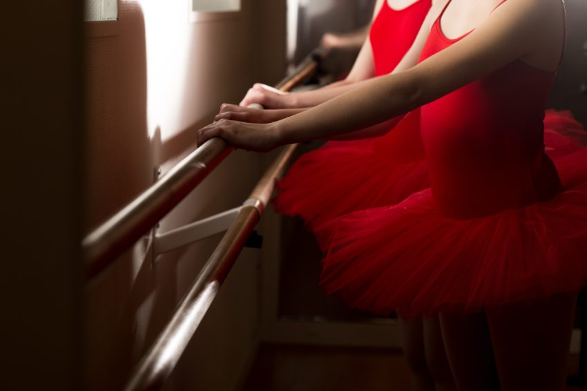Danseuse à la barre
