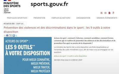 Prévention des violences sexuelles dans le sport. Tous concernés