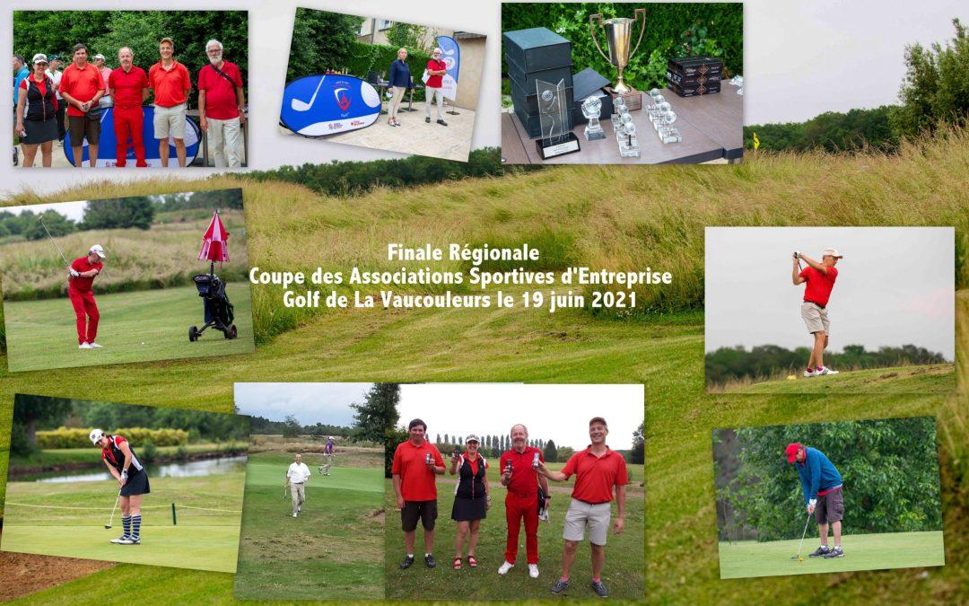 Les golfeurs à l'honneur en Finale Régionale de la Coupe des Associations Sportives d'Entreprise