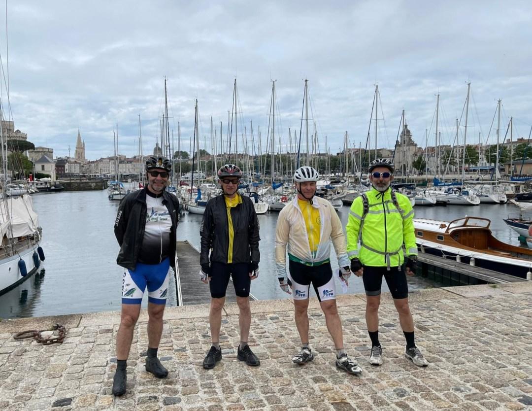 La Rochelle - Cyclo – Relais Hendaye Nantes 844 km et 4 000 m de dénivelé en juin 2021