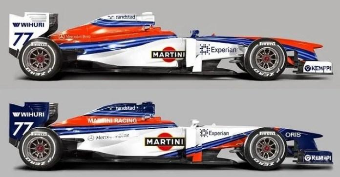 Martini at F1 Team Williams