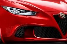 Alfa Romeo 6 C - Render Anteriore