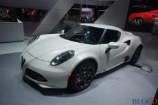 Alfa Romeo 4C Salone di Los Angeles 2014 foto live 1