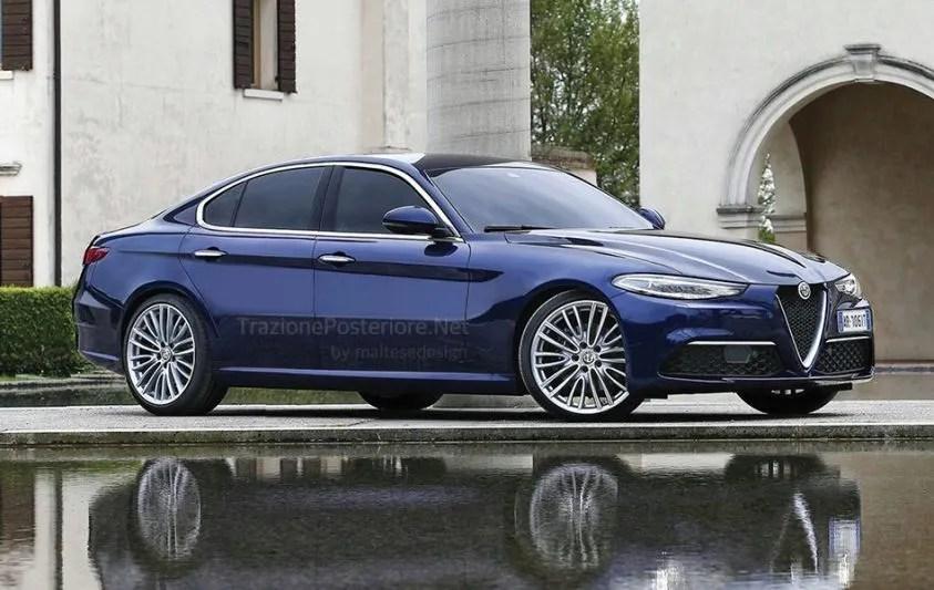 Alfa Romeo Alfetta 2018 ecco come potrebbe essere la