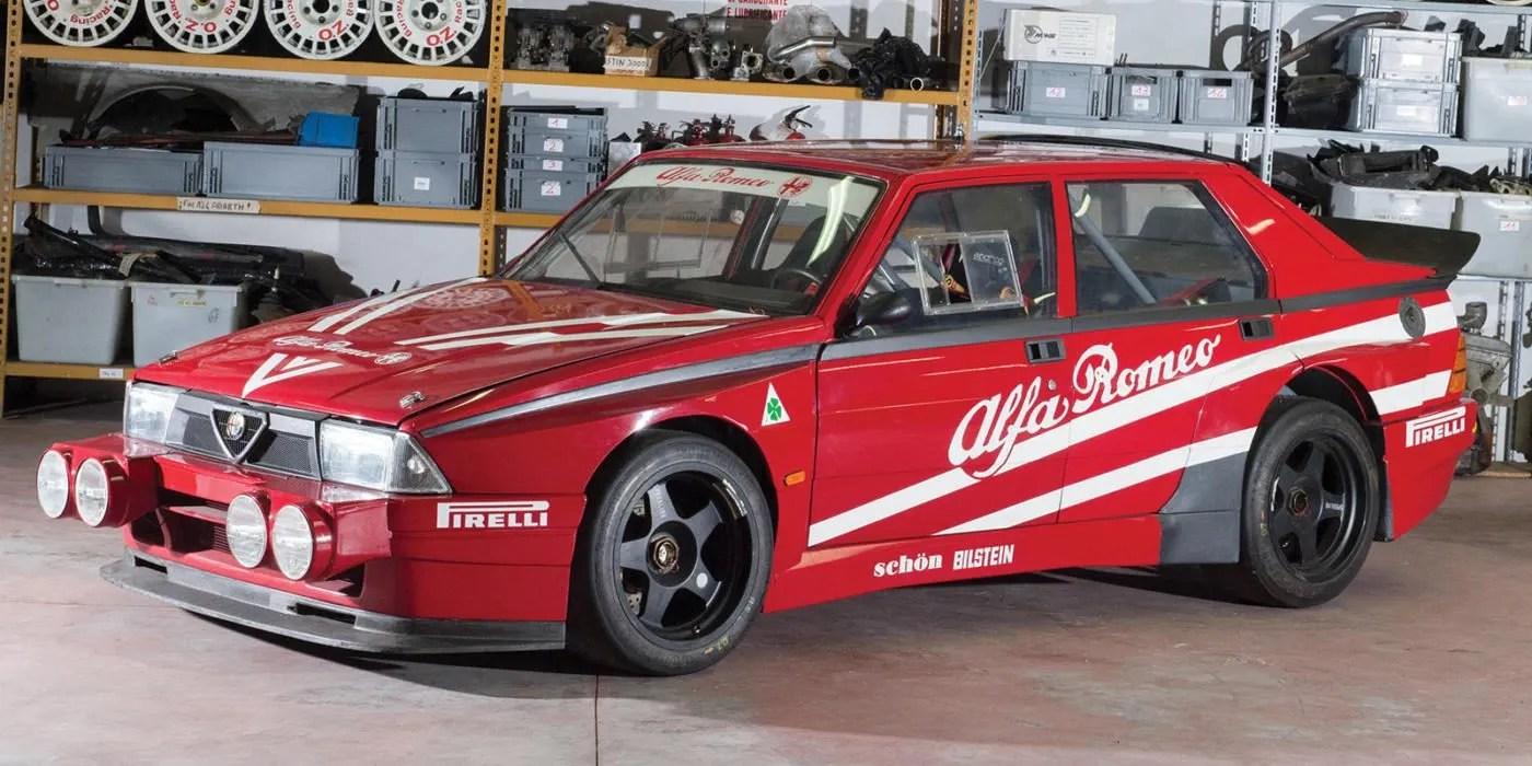 Alfa Romeo 75 Turbo Evoluzione allasta per una cifra tra