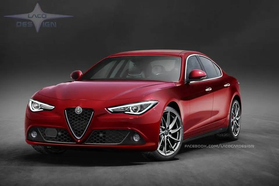 Alfa Romeo Alfetta lultimo rendering dal web