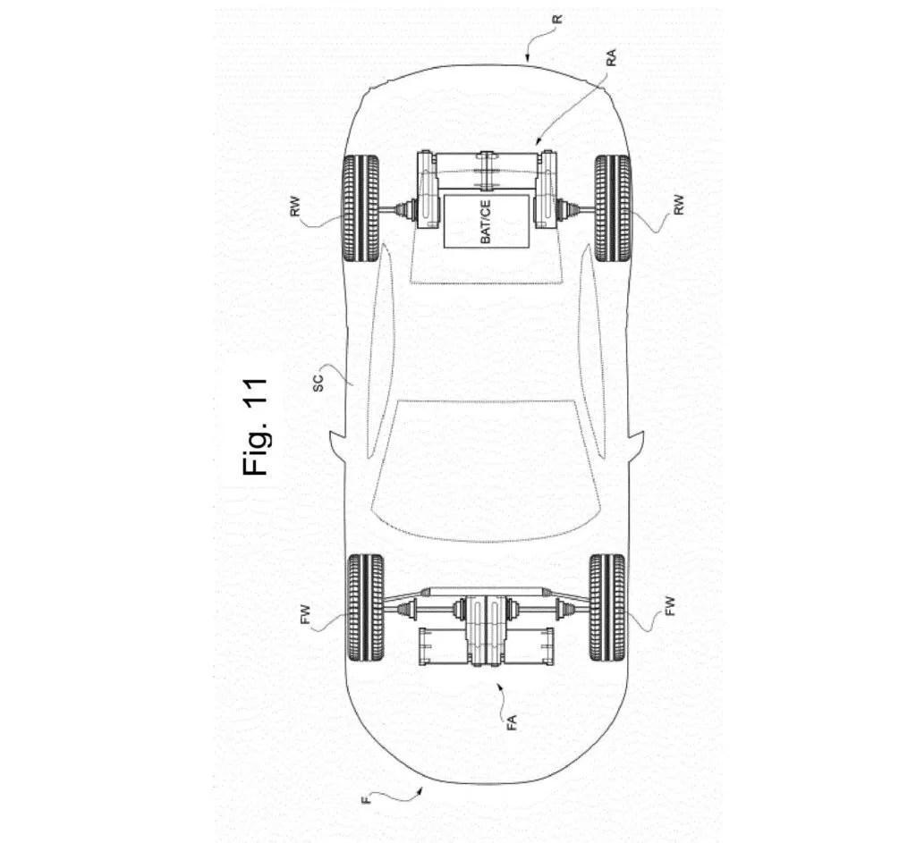 Ferrari deposita un nuovo brevetto della sua prima auto