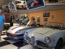 Club Alfa en Vintage Garage