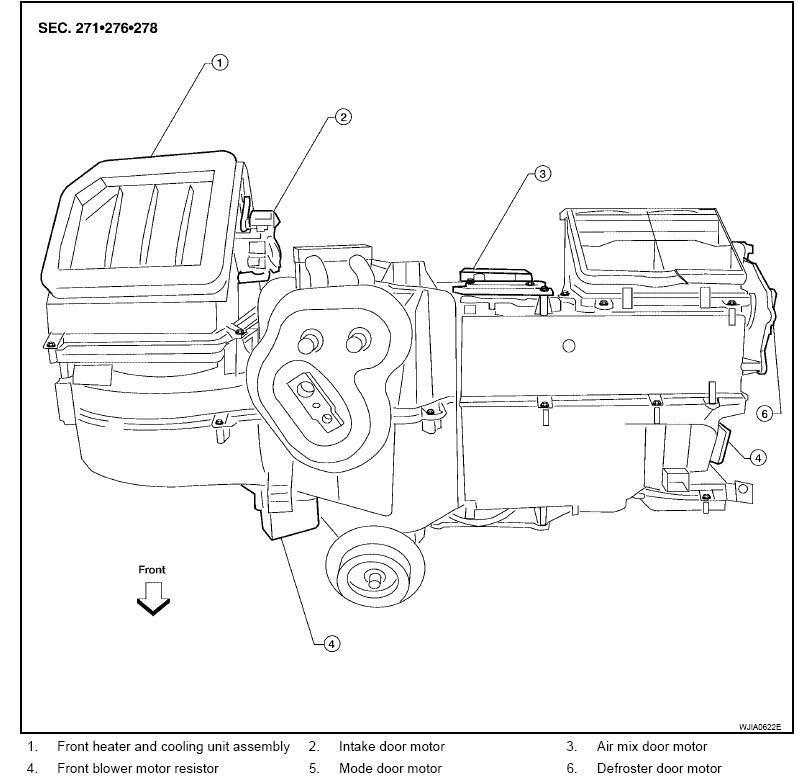Heater Blower Motor Resistorcontrol Unit