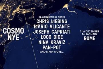 Nina Kraviz, Chris Liebing, Joseph Capriati i drugi na novogodišnjem spektaklu u Rimu
