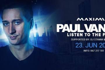 Od danas poskupljenje promo ulaznica za nastup Paul Van Dyk-a u Maximusu