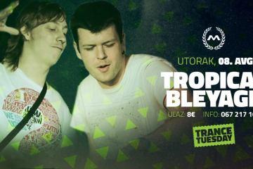 Tropical Bleyage sutra u kotorskom klubu Maximus
