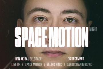 Space Motion 6. decembra u klubu Ben Akiba