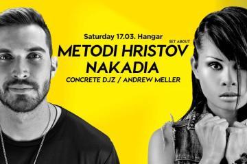 Metodi Hristov & Nakadia 17. marta u Hangaru