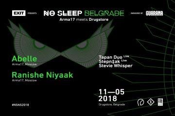 No Sleep i Drugstore u Beograd donose moskovski tehno brutalizam!