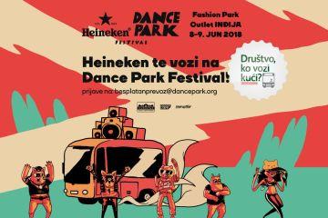 Besplatan prevoz do Dance Park festivala