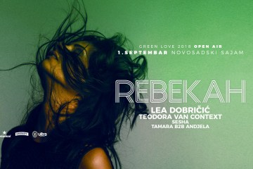 Rebekah pod otvorenim nebom na Green Love Festivalu