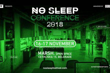 Uz prvu No Sleep konferenciju nema spavanja ni tokom dana!