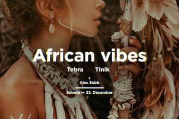 Afrički vajb 22. decembra u klubu Kafemat